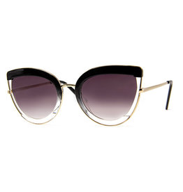 AJM - Cat-Eye Ombre Frame Sunglasses