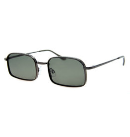 AJM - Rectangle Wire Frame Sunglasses