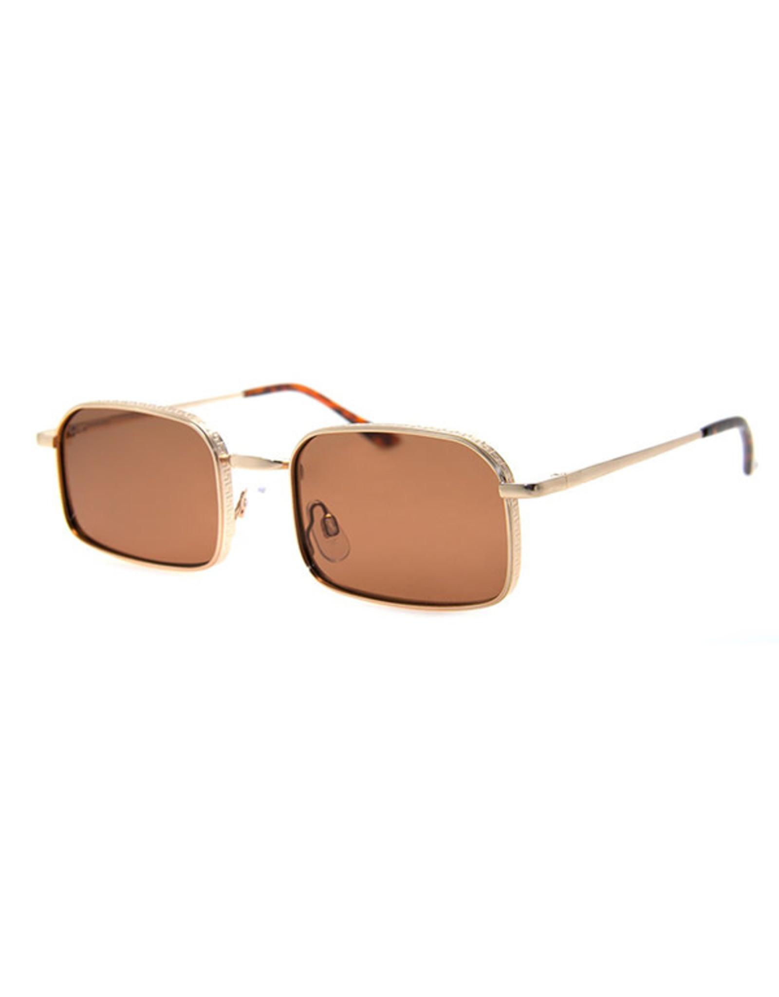 AJ Morgan AJM - Rectangle Wire Frame Sunglasses
