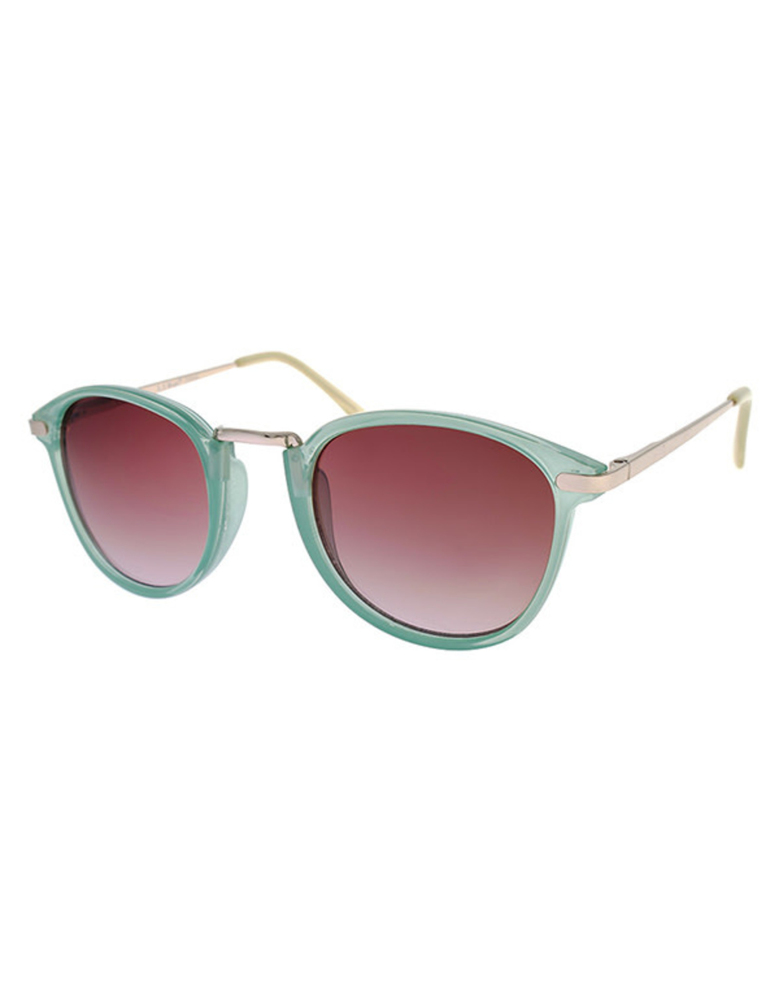 AJM - Round Wire Frame Sunglasses