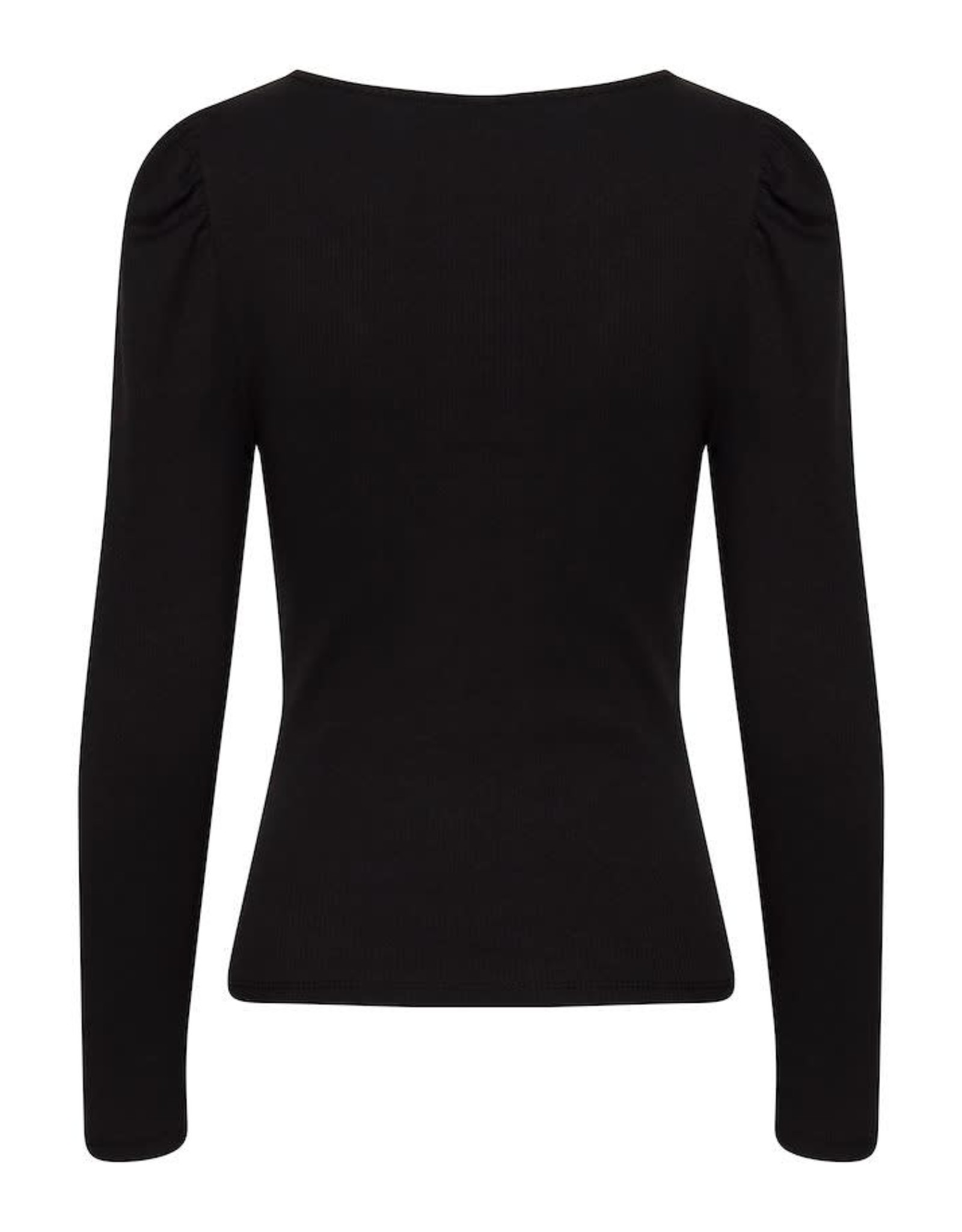 IDK - Long Sleeve Ribbed Top