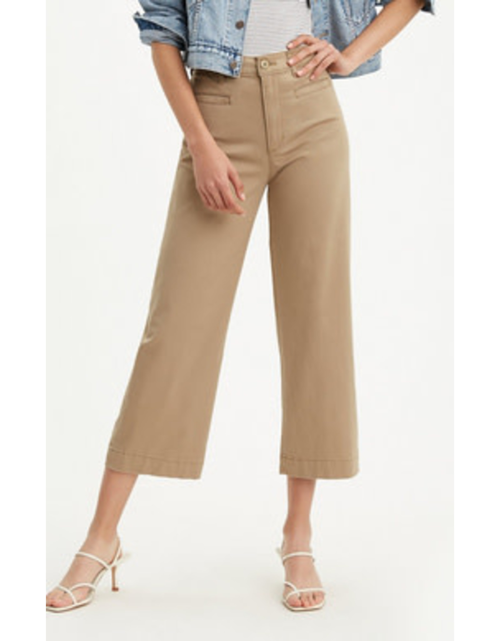 Levi's - Ribcage Wide Leg Cropped