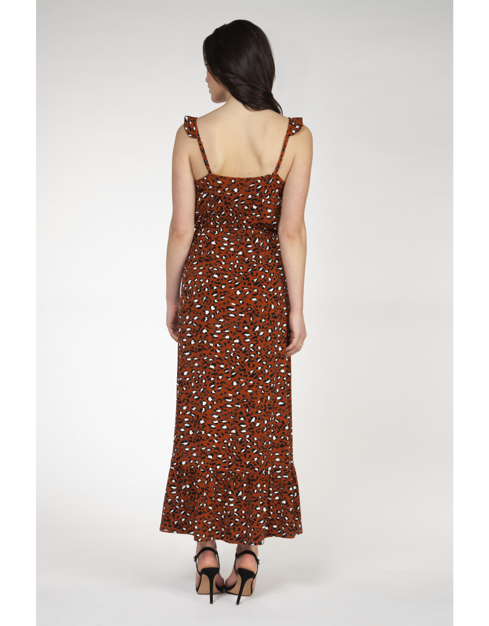 BPE - Leopard Print Maxi Dress