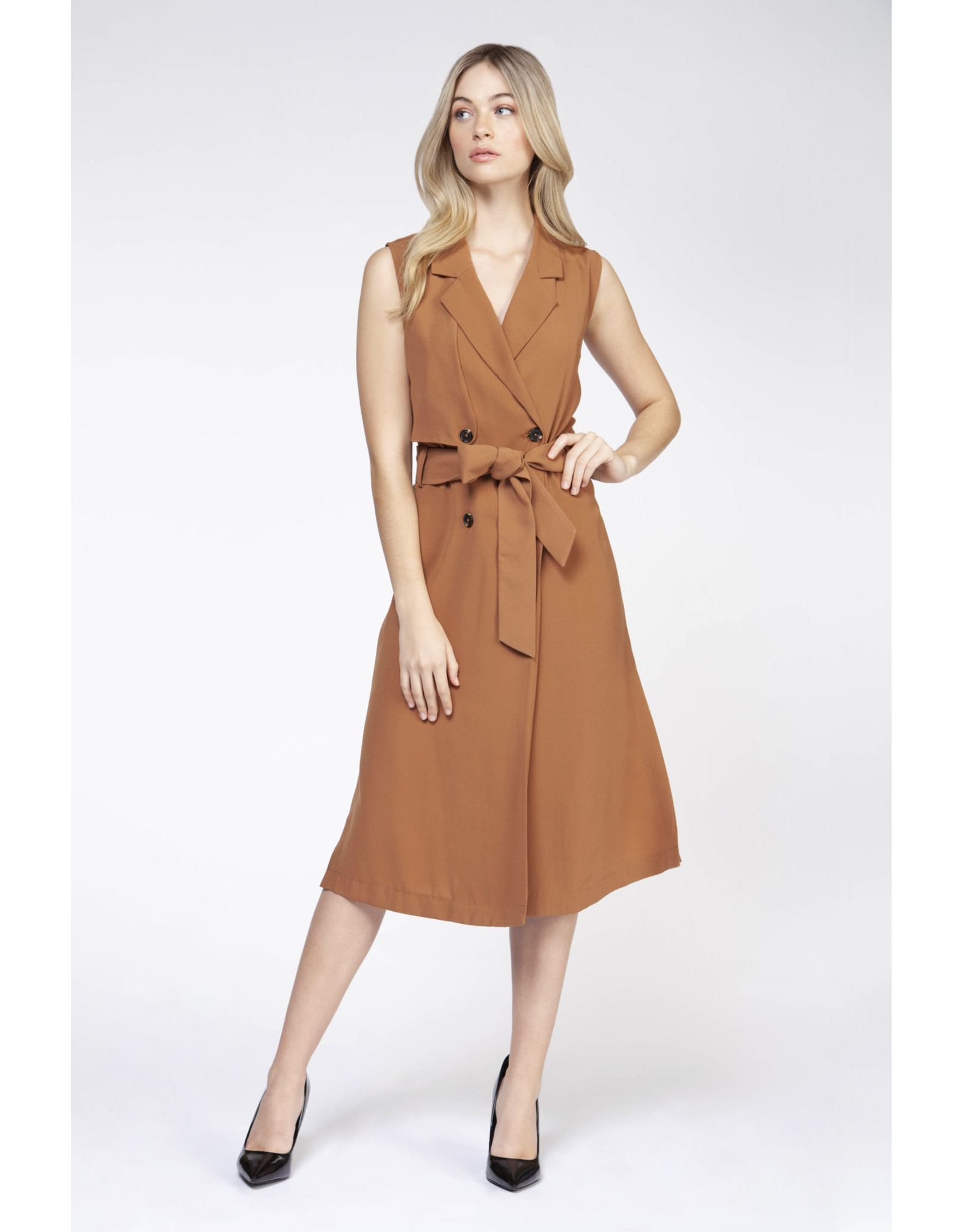 BPE - Sleeveless Midi Dress