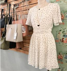 La Lavon - Smocked Dot Dress