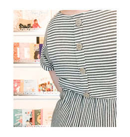 Blu Pepper Blu Pepper - Stripe Dress With Buttons