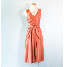 No Less Than - Sleeveless Midi Dress