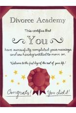 Meaghan Smith - Divorce Academy Card