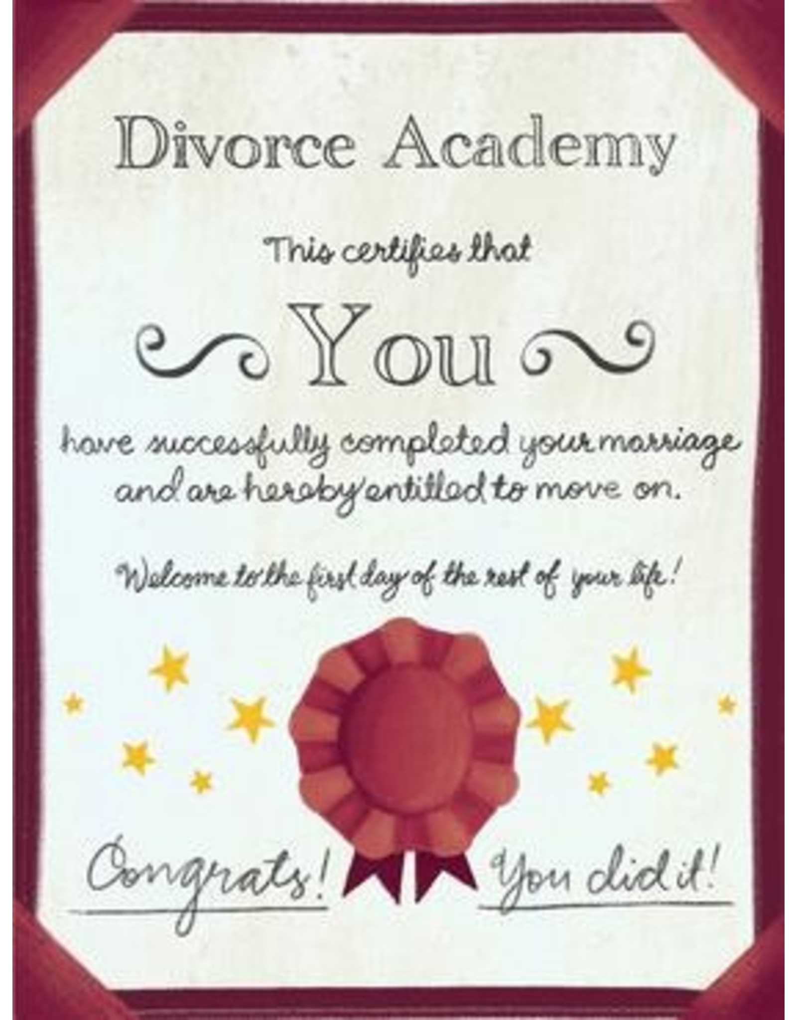 Meaghan Smith Meaghan Smith - Divorce Academy Card