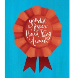 Meaghan Smith Meaghan Smith - You Did a Super Hard Thing Award Card