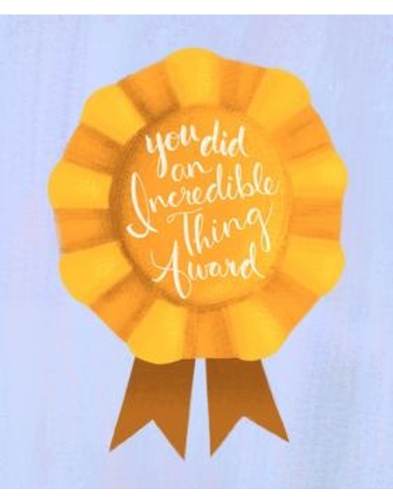 Meaghan Smith - You Did An Incredible Thing Award Card