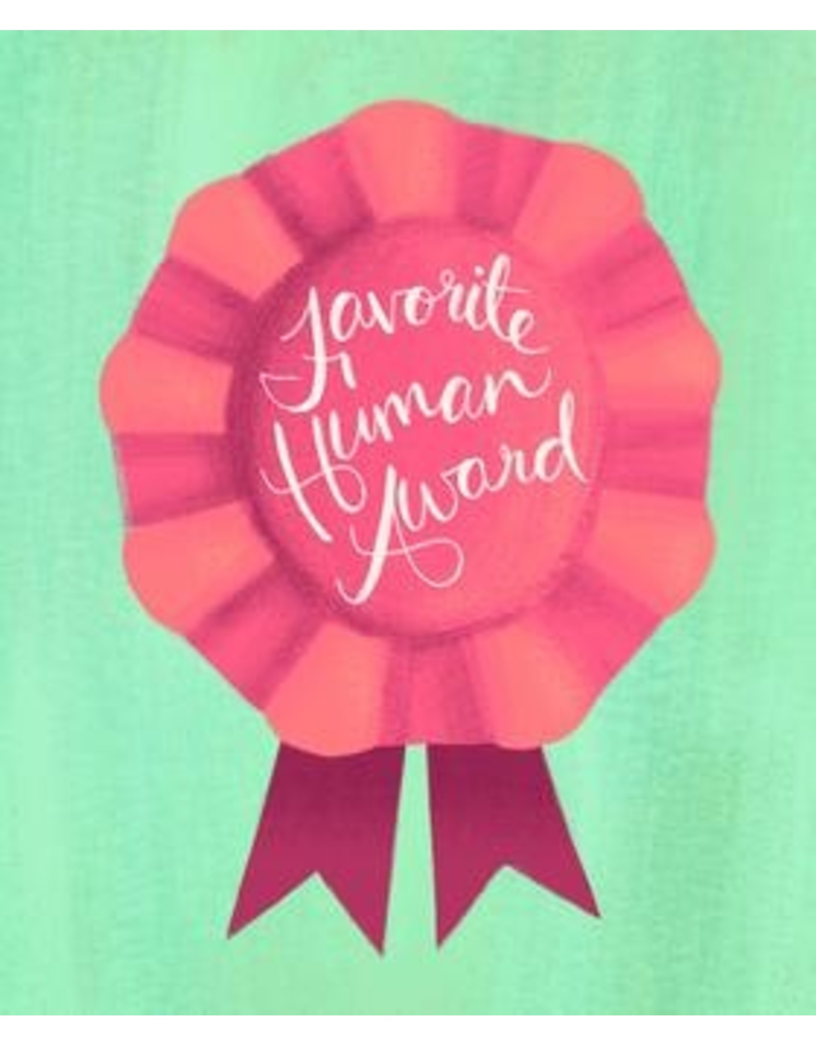 Meaghan Smith - Favorite Human Award Card