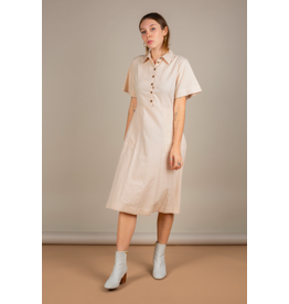 No Less Than - Button Up Dress