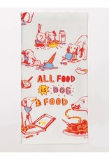 Blue Q - Dish Towel/All Food is Dog Food