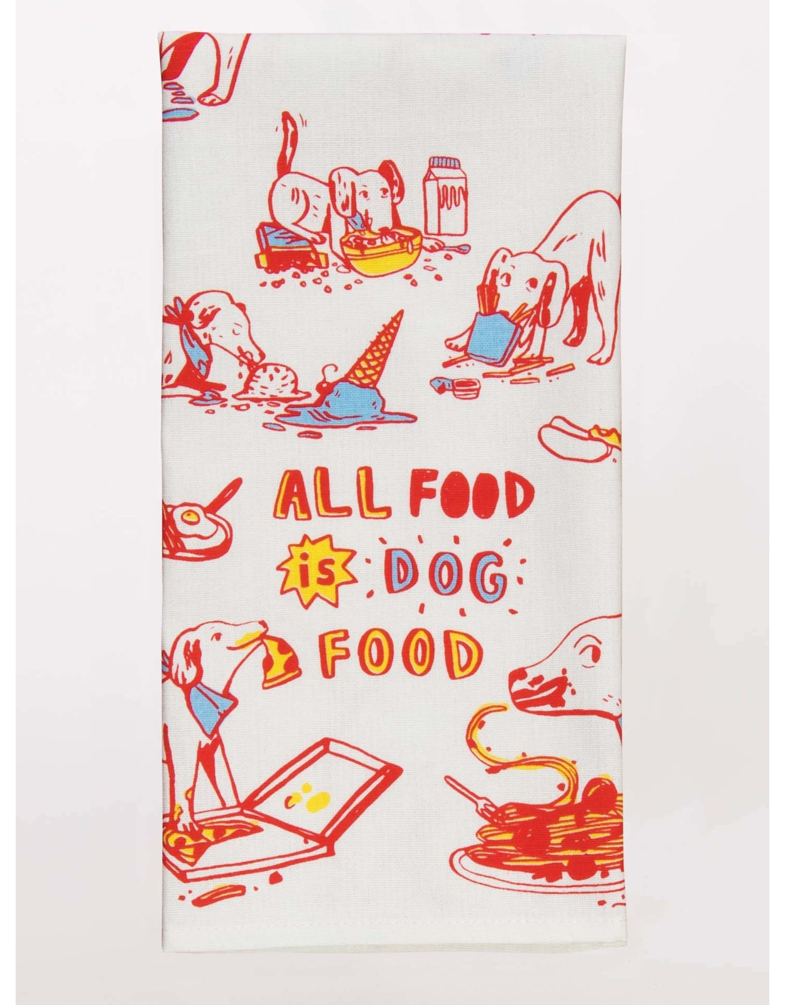 Blue Q Blue Q - Dish Towel/All Food is Dog Food