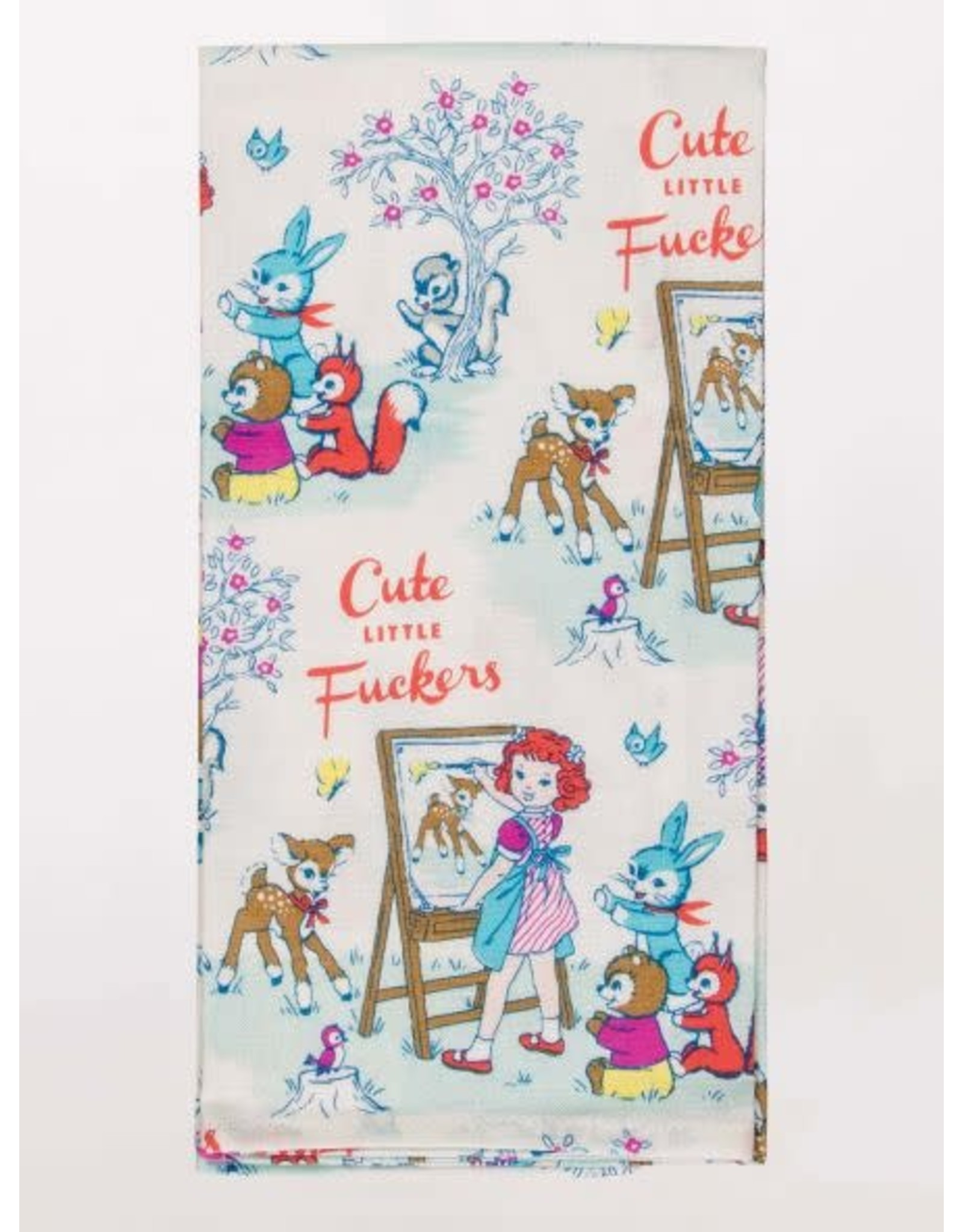 Blue Q Blue Q - Dish Towel/Cute Little Fuckers