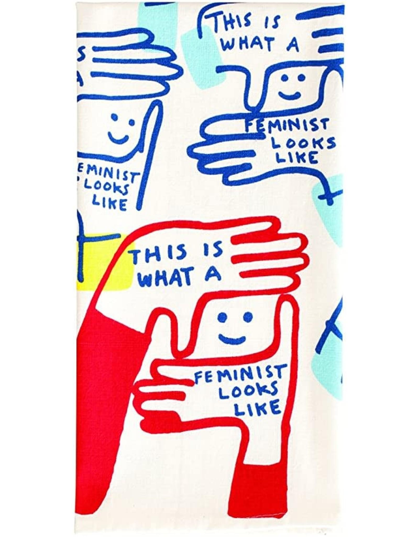 Blue Q - Dish Towel/Feminist Looks Like