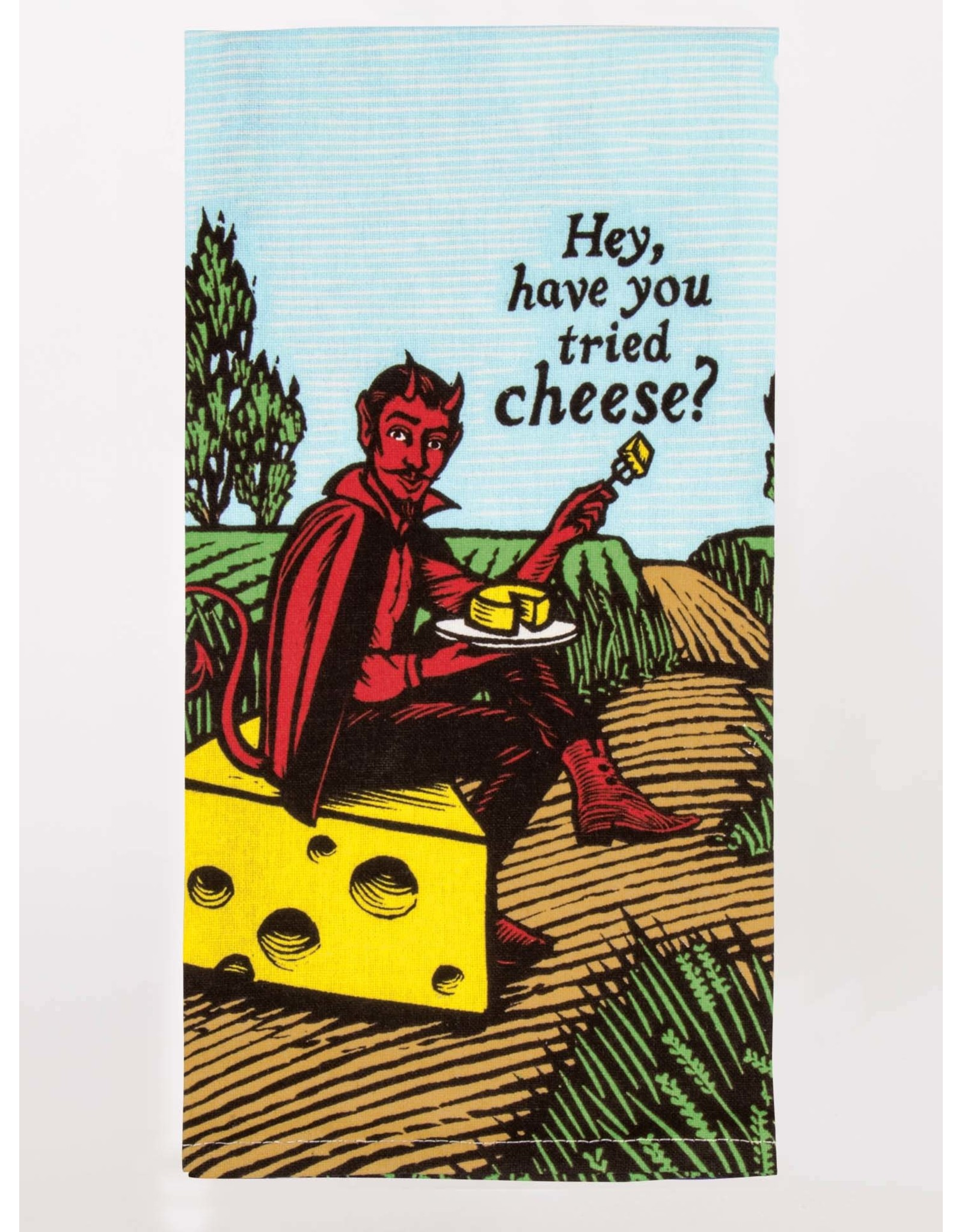 Blue Q - Dish Towel/Have You Tried Cheese