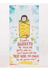 Blue Q Blue Q - Dish Towel/I Want a Burrito