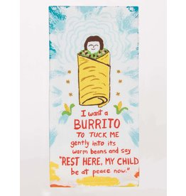 Blue Q Blue Q - Dish Towel/I Want a Burrito