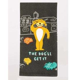 Blue Q - Dish Towel/The Dog'll Get It