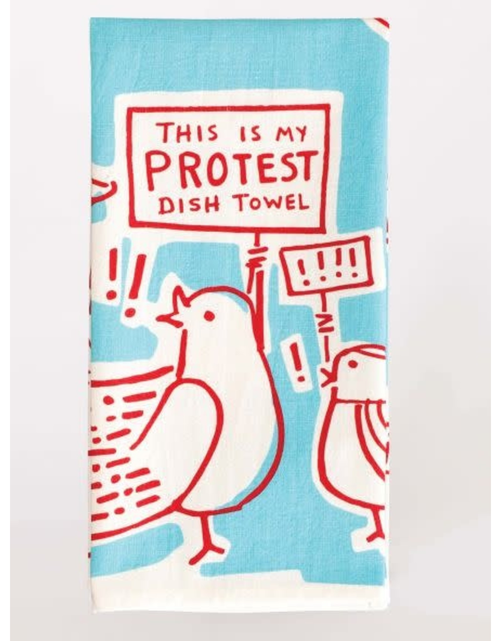 Blue Q - Dish Towel/This Is My Protest