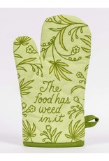 Blue Q Blue Q - Oven Mitt/Food Has Weed In It