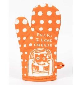 Blue Q - Oven Mitt/Fuck, I Love Cheese