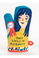 Blue Q - Oven Mitt/Likely To Microwave