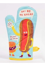 Blue Q - Oven Mitt/Say No To Salad