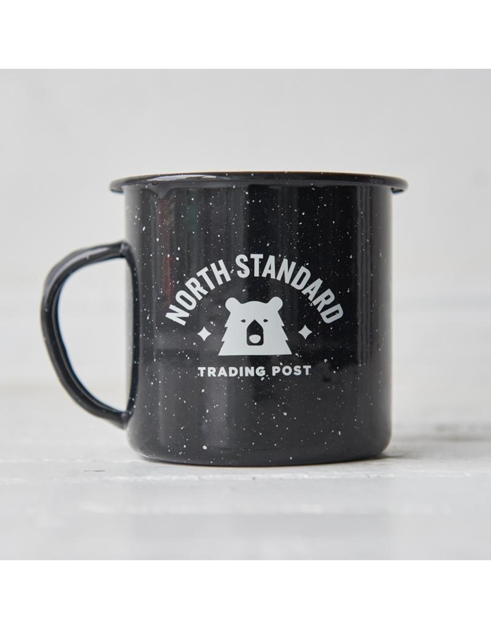 North Standard - Varsity Enamel Mug Blk