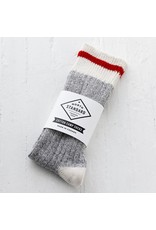 North Standard North Standard - Cotton Camp Socks/Red Stripe