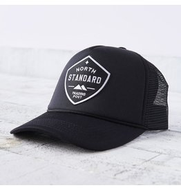 North Standard North Standard - Mesh Trucker Hat Blk/Wh Shield
