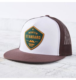 North Standard - Hat Brown/Wh with Spruce/Gold Shield