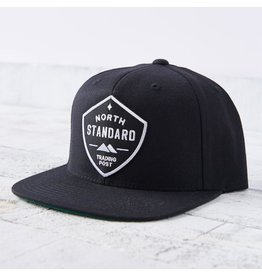 North Standard - Snapback Bk w B/W Shield