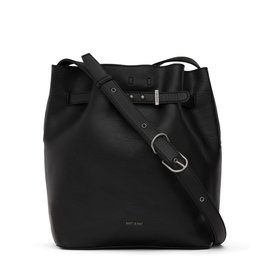 Matt & Nat Lexi Bucket Bag (2pc)/Black