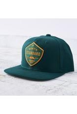 North Standard - Snapback Spruce/Gold Shield