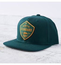 North Standard - Snapback Spruce/Gold Shield