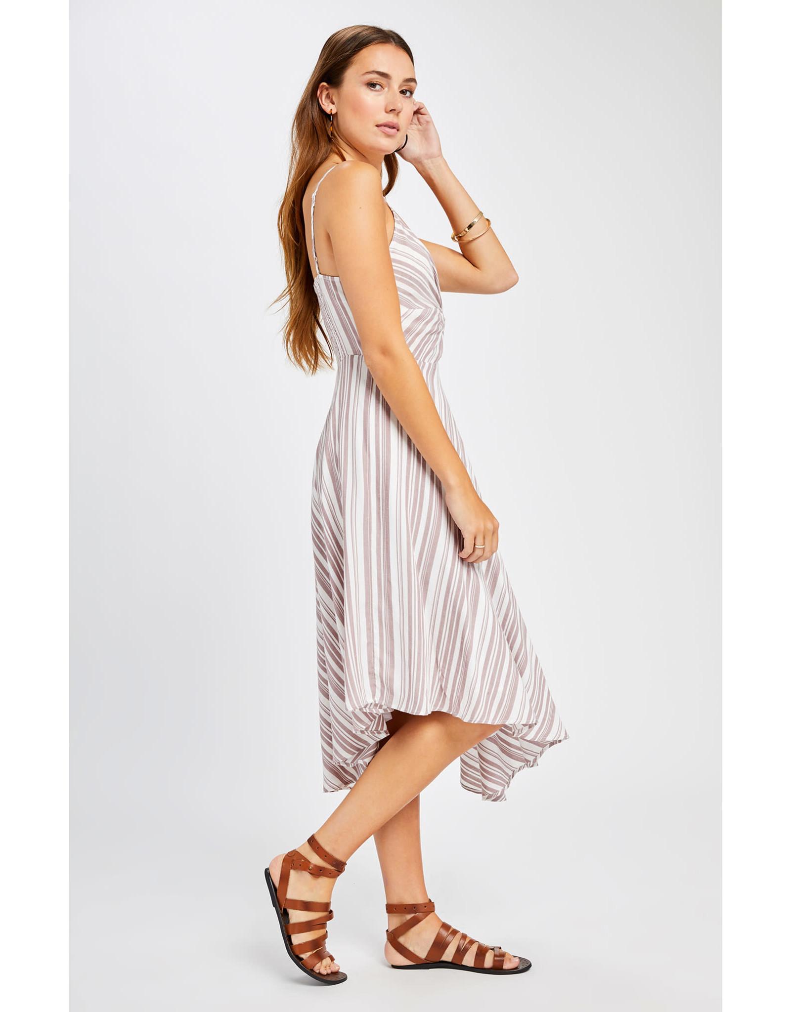 Gentle Fawn Gentle Fawn - Striped Midi Dress