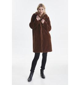 ICHI - Faux Fur Coat