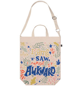 DCA - Double Strap Tote Bag/I'm so Awkward