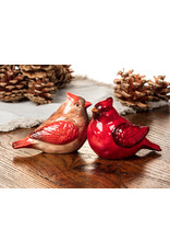 ATT - Cheery Cardinal Salt & Pepper Shakers