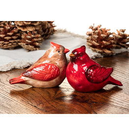 ATT - Cheery Cardinal Salt & Pepper Shakers