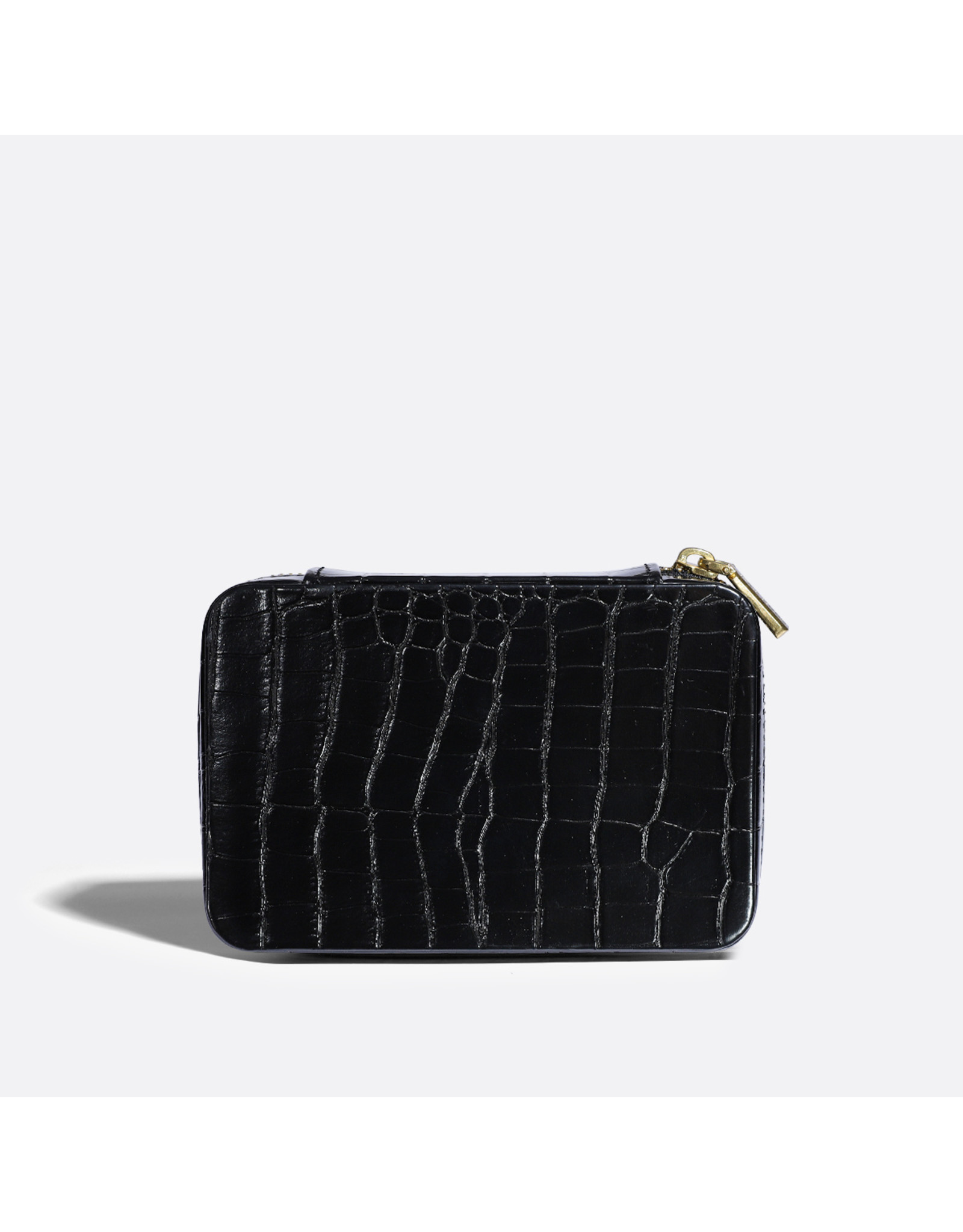 Pixie Mood - Travel Jewelry Case Blake Black Croc