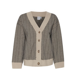IDK - Oxford Two-Tone Cardigan