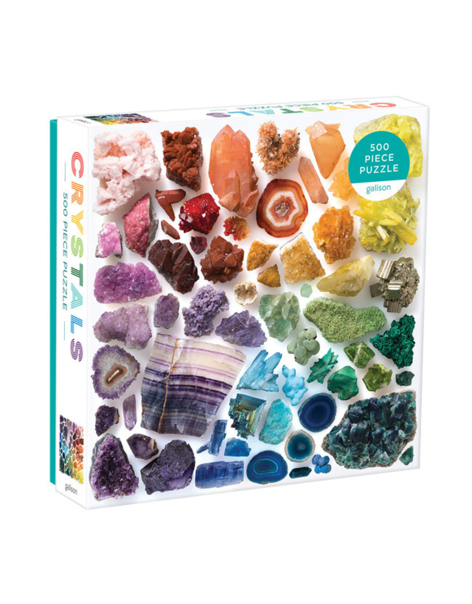 RST - Rainbow Crystals 500 Piece Puzzle