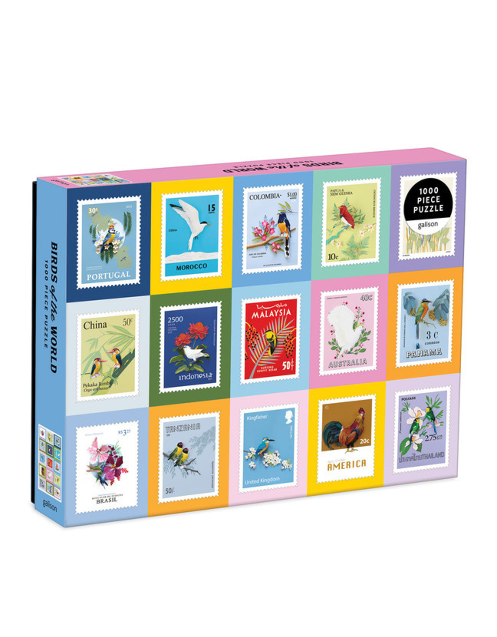RST - Birds of the World 1000 Piece Puzzle