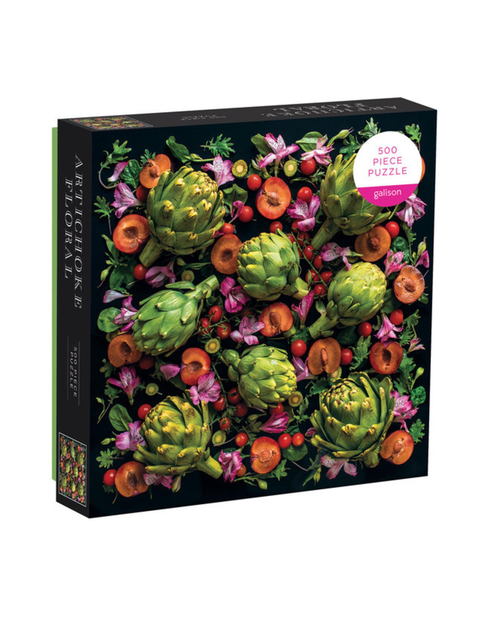 RST - Puzzle Artichoke Floral / 500 pcs