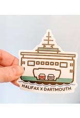 SST - Halifax X Dartmouth Sticker