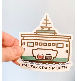 SST - Halifax X Dartmouth Sticker